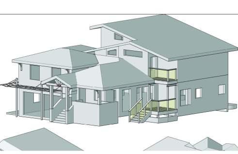 Redwood 3D model Residence